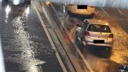 Tunnel in Aalst loopt onder water door hevige regenval, ook op andere plaatsen problemen met water