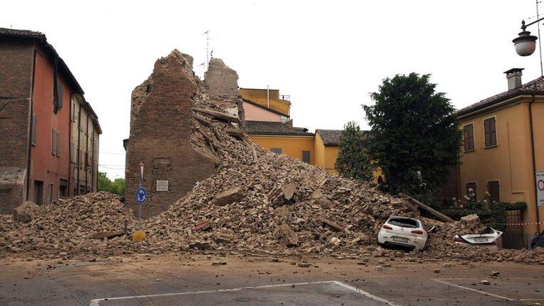 Bij de beving op 20 mei stierven zeven mensen.
