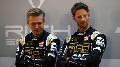 F1-team Haas bevestigt vertrouwen in Romain Grosjean en Kevin Magnussen