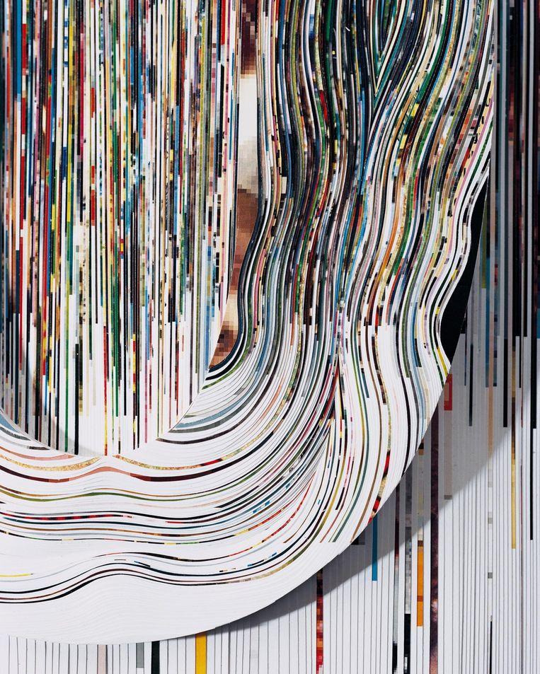 Fotoreliëf van het Japanse kunstenaarsduo Nerhol. Beeld