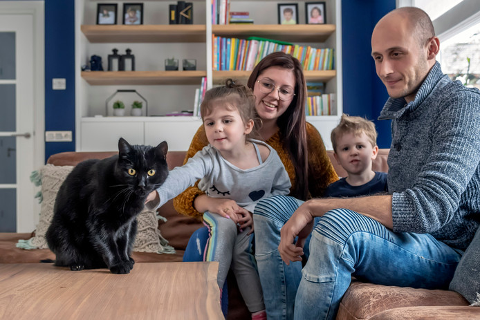 Kat Luna is een volwaardig lid van de familie Fahmy uit Bergen op Zoom. Vader Hisham was altijd een liefhebber van vuurwerk, tot het voorval met Luna.