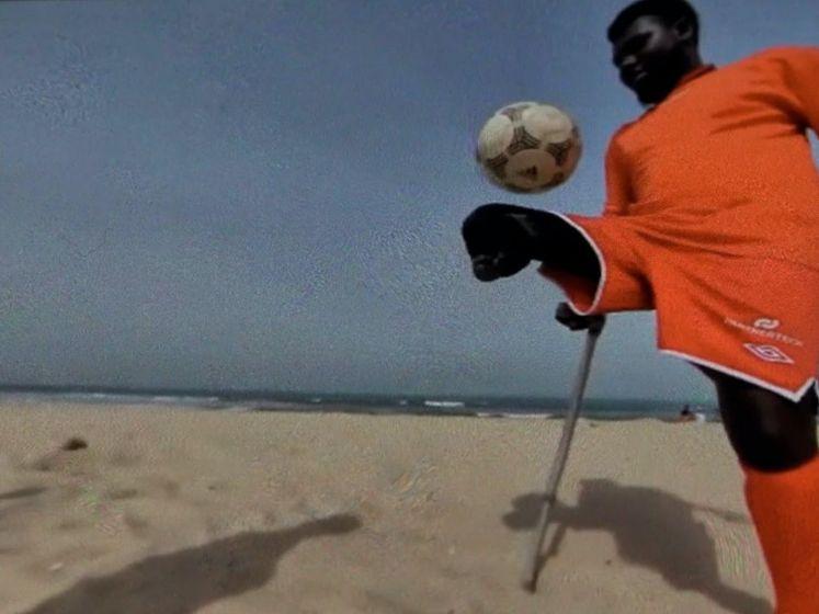 Gerty helpt Gambiaans amputee-voetbalteam