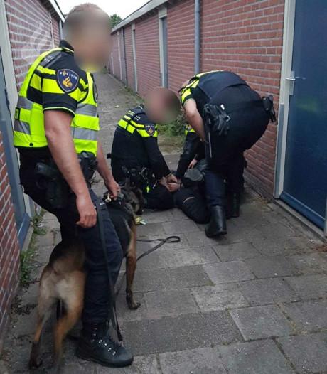 Inbreker in Woudenberg ontsnapt niet aan politiehond Biko