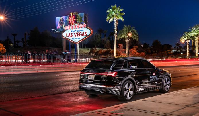 Reistijd moet 'fun' worden: Audi laat deze week op de CES in Las Vegas de nieuwste technologie zien.