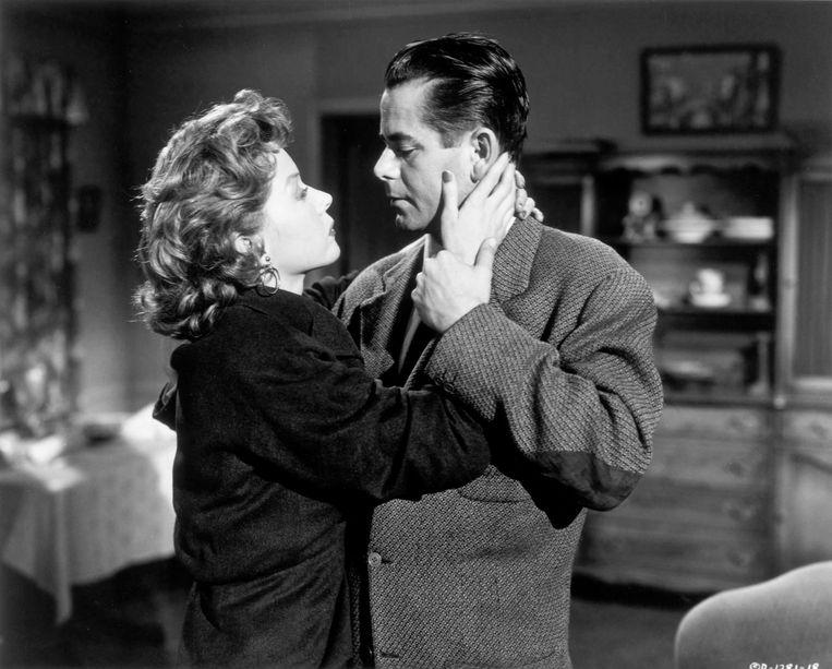 Gloria Grahame in Human Desire, 1954