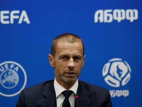 UEFA-voorzitter verklaart racisten de oorlog