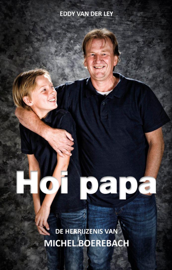 Cover van het boek van Michel Boerebach 'Hoi papa'