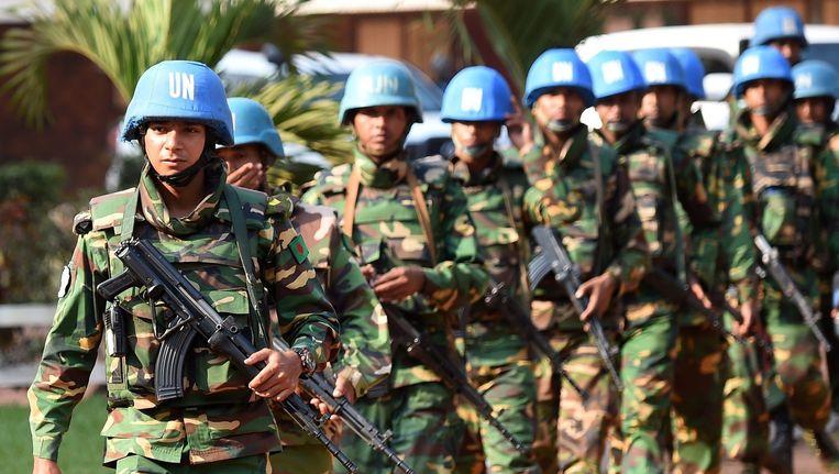 Blauwhelmen in de Centraal Afrikaanse Republiek. (Archieffoto)