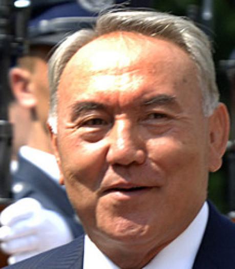 President Kazachstan houdt ermee op