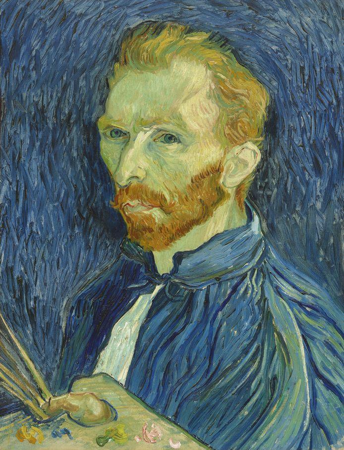 Zelfportret van Vincent van Gogh.