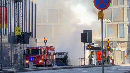 Stockholm opgeschrikt door explosie met bus