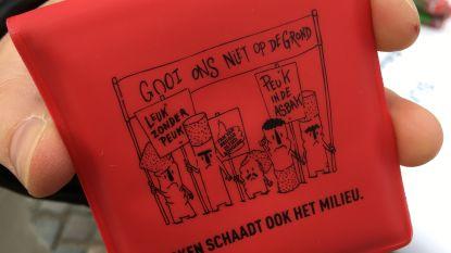 Brugge gaat strijd aan met de sigarettenpeuk: nieuwe zuilen, asbakken en peukenzakjes