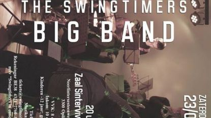 Reserveren voor Swingtimers Big Band