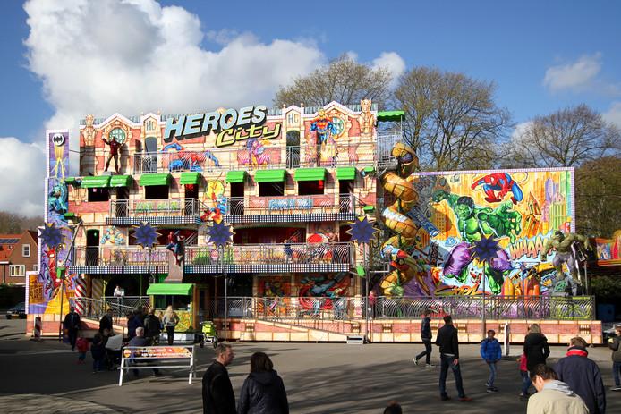 Funhouse Heroes City staat dit jaar op de kermis in Kerkdriel