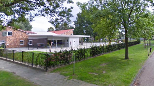 Basisschool de Klinkert waar het meisje op zit. © Google Streetview