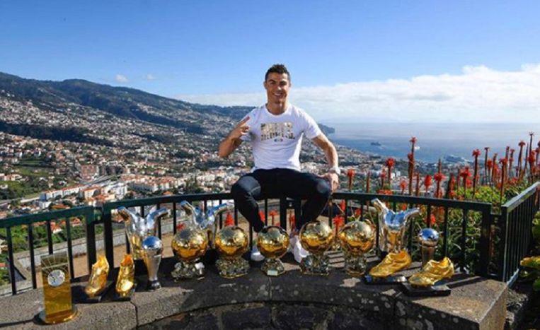 Ronaldo op Madeira.