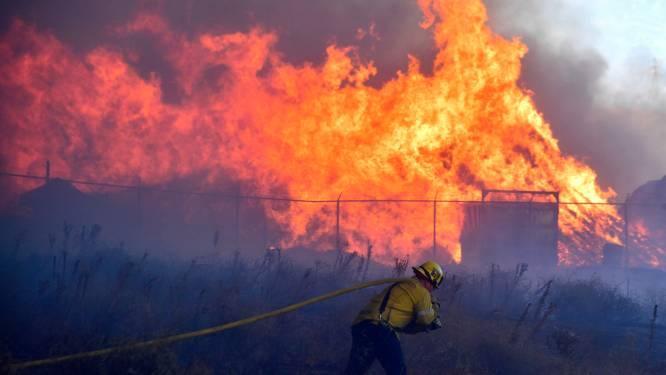 Bosbrand in Californië drijft duizenden mensen uit hun woningen