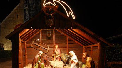 Kwb-kerststal staat al 60 jaar op Houtems marktplein