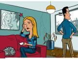 Vijf tips voor partners die elkaar wel achter het behang kunnen plakken