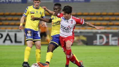 Waasland-Beveren pakt eerste puntje in play-off 2