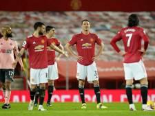 ManUnited loopt koppositie mis na thuisnederlaag tegen hekkensluiter Sheffield United