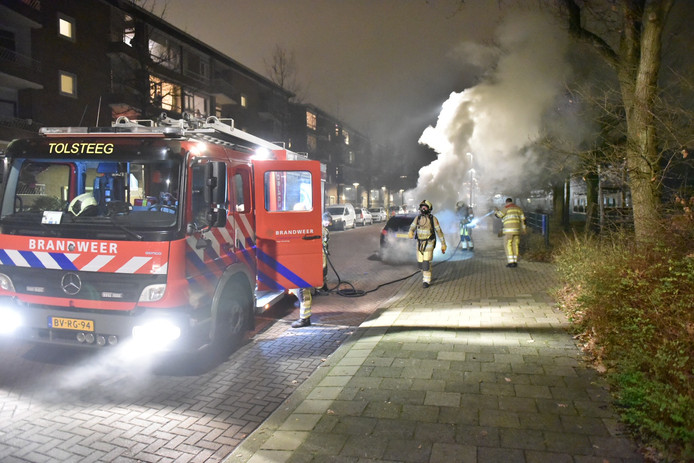 Brand aan Ridderlaan