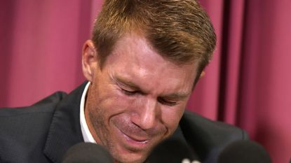 """Australiër barst in tranen uit en kondigt afscheid aan na cricketschandaal: """"Mogelijk ga ik professionele hulp vragen"""""""