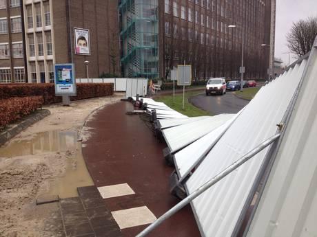 Eerste stormschades in Eindhoven