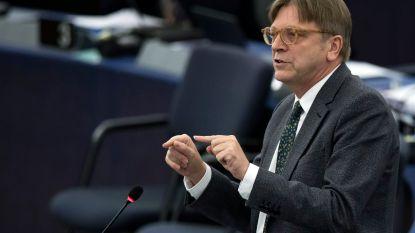 """Guy Verhofstadt, """"een van de twaalf mensen die 2018 wel eens om zeep zou kunnen helpen"""""""