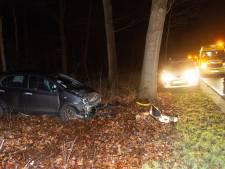 Auto botst in Ermelo tegen boom: bestuurder naar ziekenhuis
