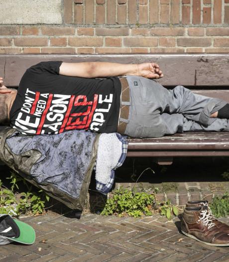 Tilburg: aantal daklozen nu snel terug