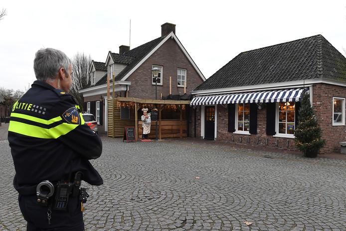 Politie doet onderzoek na een overval in Sint Anthonis. (foto ter illustratie)