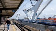 Vijf ton zware draagstructuren vormen basis nieuw station
