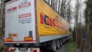 Turkse trucker volgt gps en rijdt zich vast in aardeweg