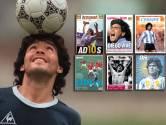 Eén groot eerbetoon: zo zien de covers van de sportkranten eruit na de dood van Maradona