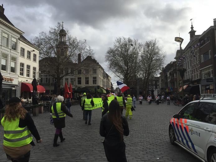 Gele hesjes in Breda