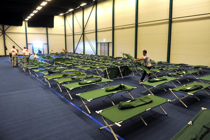 Vorig jaar werd Metsj Point gebruikt voor de opvang van vluchtelingen.