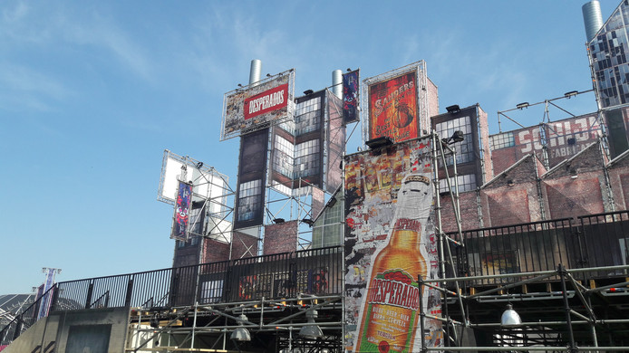 Het festivalterrein van Paaspop is er zo goed als klaar voor.