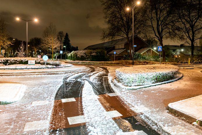 Sneeuw in Oosterhout