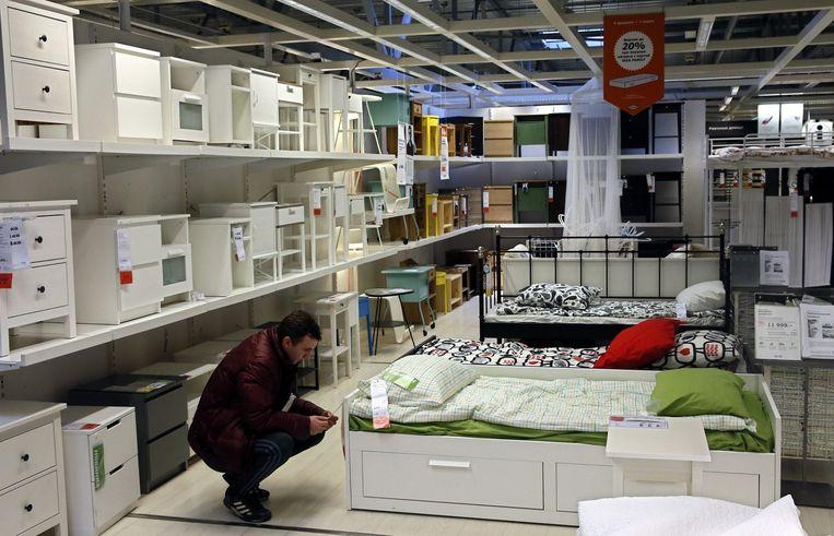 Ook Moskou heeft een vestiging van Ikea. Beeld epa