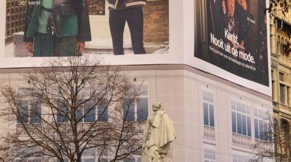 Opvallende reclame-campagne op de Meir zet kwaad bloed bij winkeliers