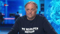 """Marc Van Ranst steekt cultuursector hart onder de riem met opvallende trui: """"We begrijpen mekaar"""""""