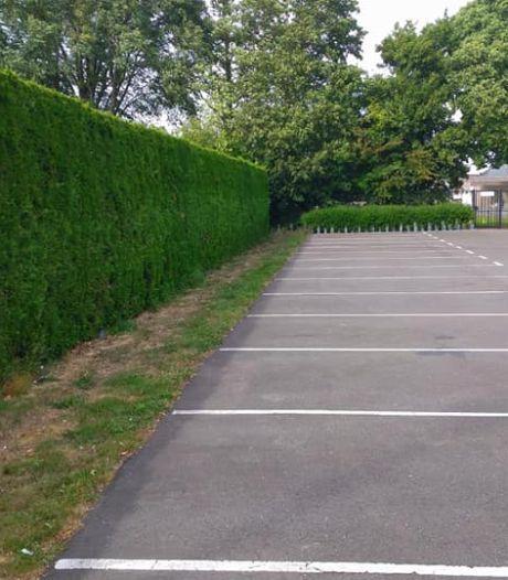 Hangjongeren hebben spijt en ruimen eigen rommel op parkeerplaats Sint Jansteen op