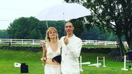 Belgisch topmodel trouwt in een wel heel speciale (witte) outfit