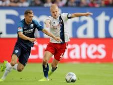 Van Drongelen koploper met HSV na punt tegen Arminia Bielefeld