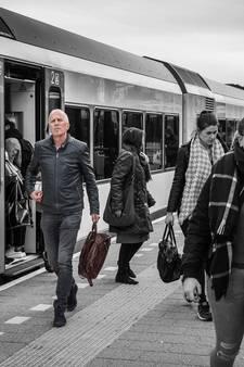 Volle trein: passagiers blijven achter op station Mook