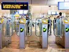 Test: poortjes op Amsterdam CS komende dagen dicht