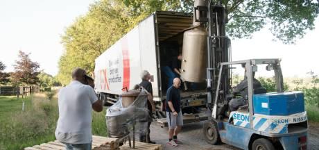Drie jaar cel voor 'producent' van drugslab in boerderij Schuinesloot, boer vrijgesproken