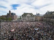 1300 belangstellenden voor demonstratie tegen racistisch geweld op Grote Markt