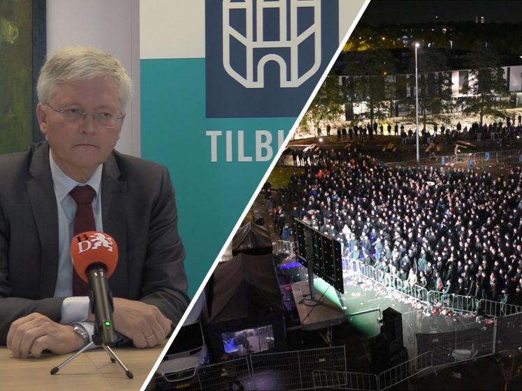 Burgemeester Weterings over feestende Willem II-supporters: 'Ze hebben het zelf verpest'